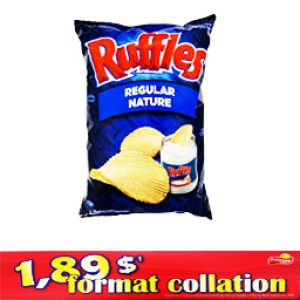 Chips Format Collation Ruffles Nature 66g