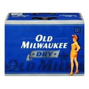 Bière Old Milwaukee Dry 5.9%alc 12 Canettes 355 mL
