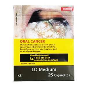 Cigarette LD Medium KS 25
