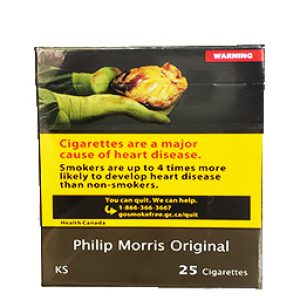 Cigarette Philip Morris Originale KS 25