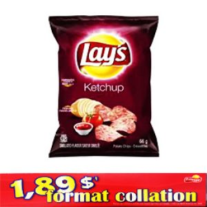 Chips Format Collation Lays Ketchup 66g
