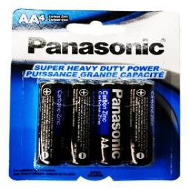 Batterie Panasonic  4x AA