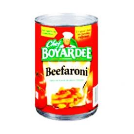 Beefaroni Pâtes et Boeuf en Sauce Tomate 425g