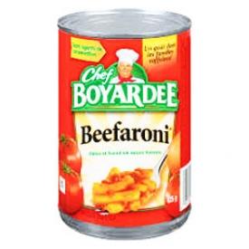 Beefaroni Pâte et Boeuf en Sauce Tomate 425g
