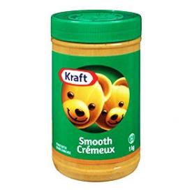 Beurre d'arachide Kraft Gros 1Kg