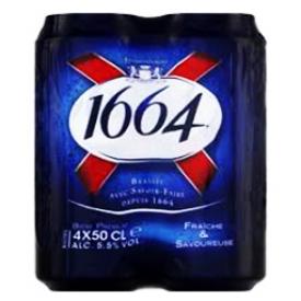 1664 Blanc 5%alc 4 Canettes 500 mL