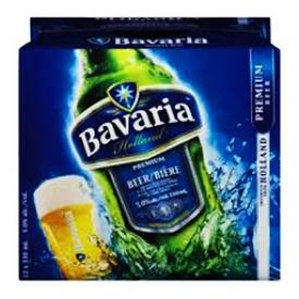 Bière Bavaria 5%alc 12 Bouteilles 330 mL