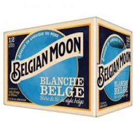 Bière Belgian moon Blanche 5.4%alc 12 Bouteilles 341 mL