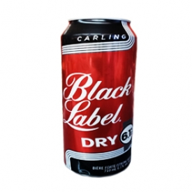 Bière Black Label Dry 6.1%alc Canette 710 mL