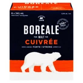Bière Boréale Cuivrée 6.9% 6 Bouteilles 341 mL