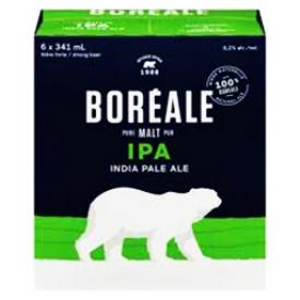 Bière Boréale IPA 6.2%alc 6 Bouteilles 341 mL