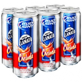 Bière Bud Light Clamato Chelada 4%alc 6 Canettes 355 mL