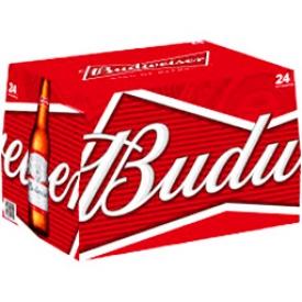 Bière Budweiser 5%alc 24 Bouteilles 341 mL