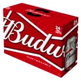 Bière Budweiser 5%alc 24 Canettes 355 mL