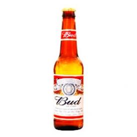 Bière Budweiser 5%alc Bouteille 341 mL