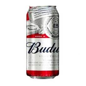 Bière Budweiser 5%alc Canette 473 mL