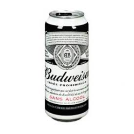 Bière Budweiser Sans Alcool Canette 473 mL