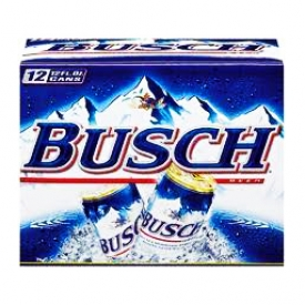 Bière Busch 4.7%alc 12 Canettes 355 mL