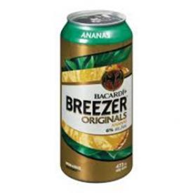 Bière Bacardi Breezer Originals Ananas 6%alc Canette 473 mL