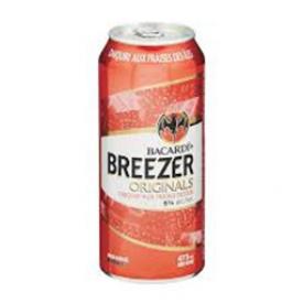 Bière Bacardi Breezer Originals Dajquiri aux Fraises des iles 6%alc Canette 473 mL