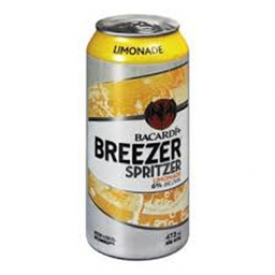 Bière Bacardi Breezer Spritzer Limonade 6%alc Canette 473 mL