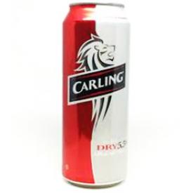 Bière Carling Dry 5.5%alc Canette 710 mL