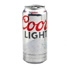 Bière Coors Light 4%alc Canette 473 mL