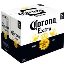 Bière Corona 4.6%alc 12 Canettes 355 mL