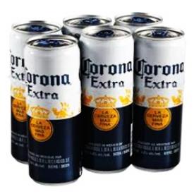 Bière Corona 4.5%alc 6 Canettes 355 mL