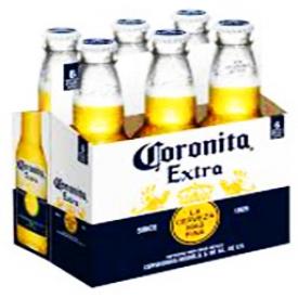 Bière Coronita 4.6%alc 6 Bouteilles 207 mL