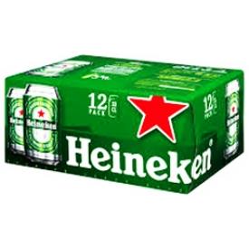 Bière Heineken 5%alc 12 Canettes 330 mL