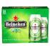 Bière Heineken 5%alc 24 Canettes 355 mL