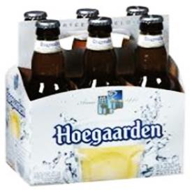 Bière Hoegaarden 4.9%alc 6 Bouteilles 330 mL