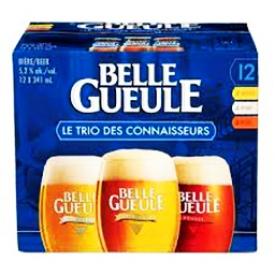 Bière La Belle Gueule Le Trio des Connaisseurs 12 Bouteilles