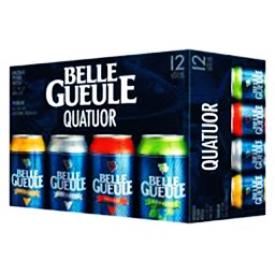 Bière La Belle Gueule Quatuor 12 Canettes 355 mL