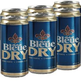Bière Labatt Bleue Dry 6.1%alc 6 Canettes 355 mL