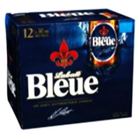 Bière Labatt Bleue 4.9%alc 12 Bouteilles 341 mL