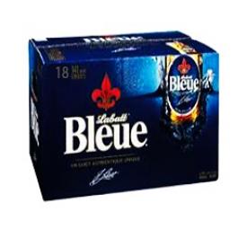 Bière Labatt Bleue 4.9%alc 18 Bouteilles 341 mL