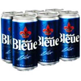 Bière Labatt Bleue 4.9%alc 6 Canettes 355 mL