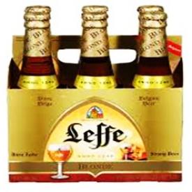 Bière Leffe Blonde 6.6%alc 6 Bouteilles 341 mL