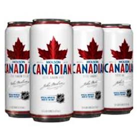 Bière Molson Canadian 5%alc 6 Canettes 355 mL