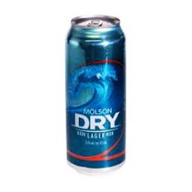 Bière Molson Dry 5.5%alc Canette 473 mL