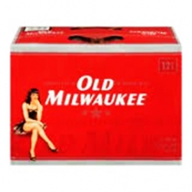 Bière Old Milwaukee 4.9%alc 12 Canettes 355 mL