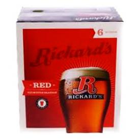 Bière Rickard's Red 5.2%alc 6 Bouteilles 341 mL