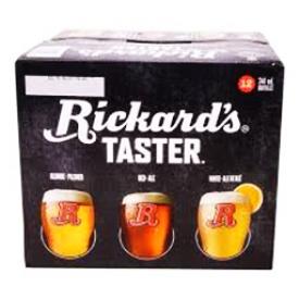 Bière Rickard's Taster 12 Bouteilles 341mL