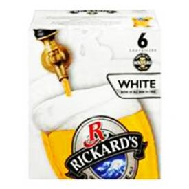 Bière Rickard's White 5.4%alc 6 Bouteilles 341 mL