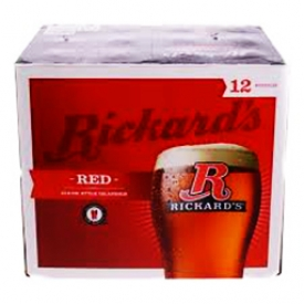 Bière Rickard's Red 5.2%alc 12 Bouteilles 341 mL
