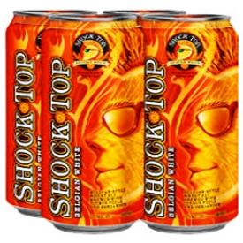 Bière shock Top 5.2%alc 4 Canettes 473 mL