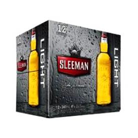 Bière Sleeman Light 4%alc 12 Bouteilles 341 mL