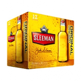 Bière Sleeman Original 5%alc 12 Bouteilles 341 mL